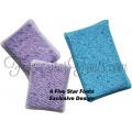 Scrubbie Sponge Covers In the Hoop -Exclusive Five Star Fonts Design